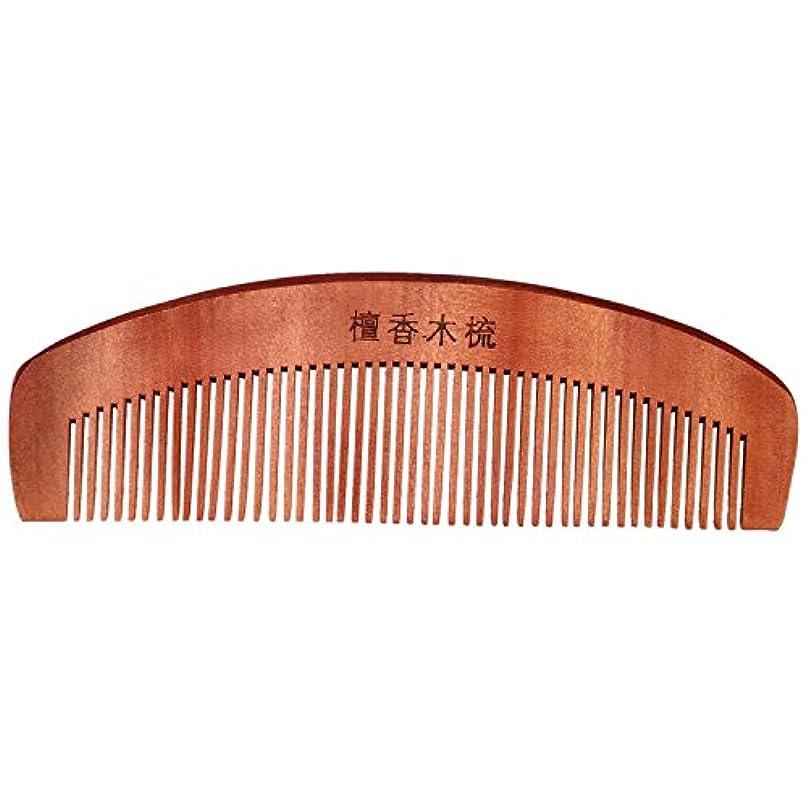 寄稿者発行マットくし,SODIAL(R)コーヒー色の香りの良い天然木木製の髪ケア理髪くし5.7