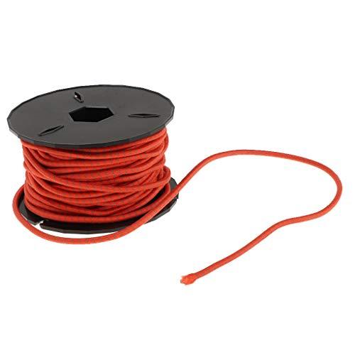 3mm ラテックス 弾性ロープ ショックコード テントポール リペアコード