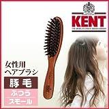 KENT レディース ブラッシングブラシ[スモールサイズ/豚毛ふつう]KNH-2224ケント