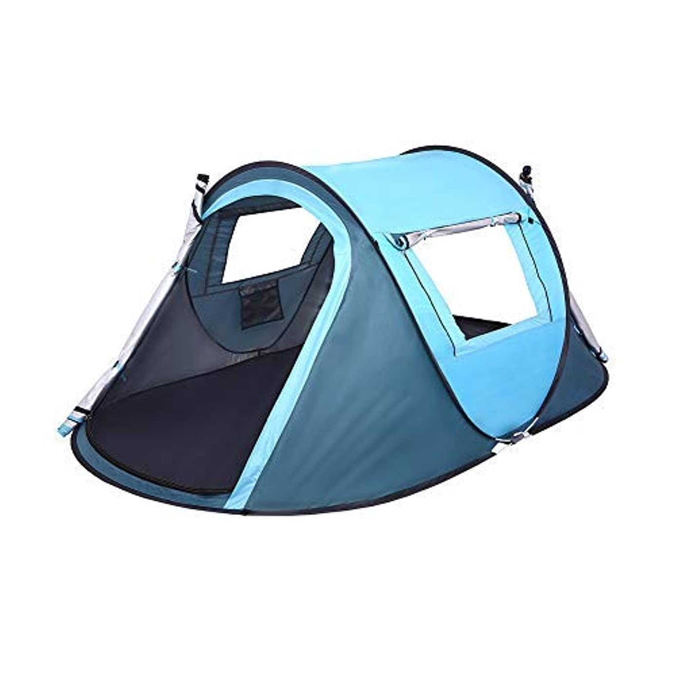 手紙を書く純粋に閉じるLw Boat Tent(テント) Instant 2 Person Automatic Lightweight Waterproof Breathable Sun Shelter Backpacking Tent(テント)s for 4 Season Outdoor Camping Hiking Traveling Or Beach Fishing [並行輸入品]