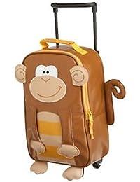 Stephen Joseph ステファンジョセフ Monkey モンキー コロコロ付きキャリーケース リュックサック スーツケース 38cm