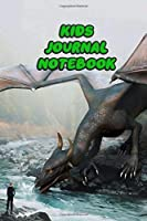Kids Journal Notebook: Daily Journaling Notes For Girls Boys Teen Spark Imagination, Great Gratitude and Positive Thinking | Devil Dragon Cover Print
