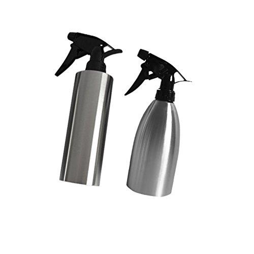 [해외]Dovewill 2 개들이 오래 편리 원예 공구 조절 누출 방지 노즐 스테인레스 스틸 물을 부어 스프레이 병 기념일 이사/Dovewill 2 pieces long-lasting convenient gardening tool adjustable leak-proof nozzle pour water made stainless steel spray...