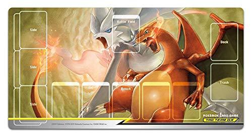 ポケモンカードゲーム ラバープレイマット レシラム&リザードン TAG TEAM GX