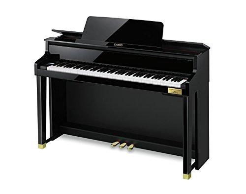 カシオ 電子ピアノ(ブラックポリッシュ仕上げ)【高低自在椅子&ヘッドホン&楽譜集付き】CASIO CELVIANO(セルヴィアーノ) GP-500BP