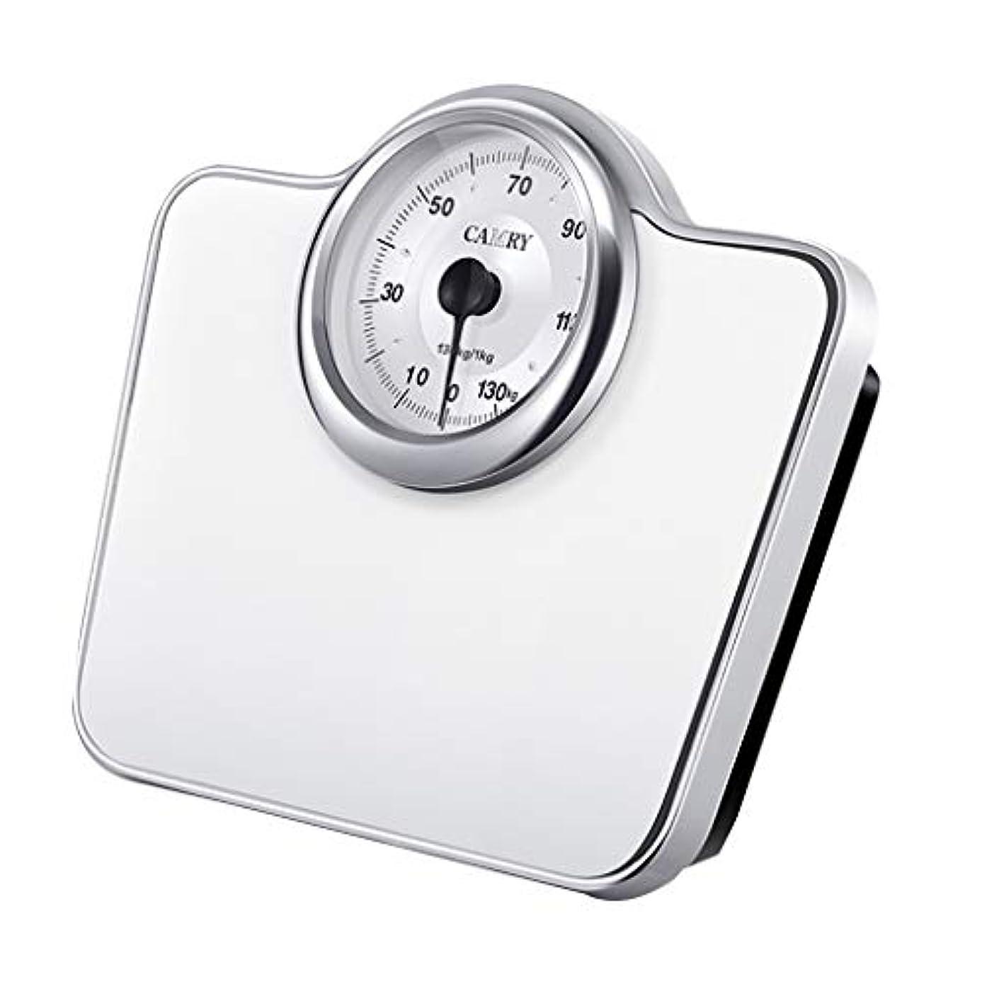 スリルアセ順番ファッショナブル 体重計 大きいダイヤルを使って、 高精度メカニカルスケール バスルームやジム用 最大136kg / 300Lbsの重さ