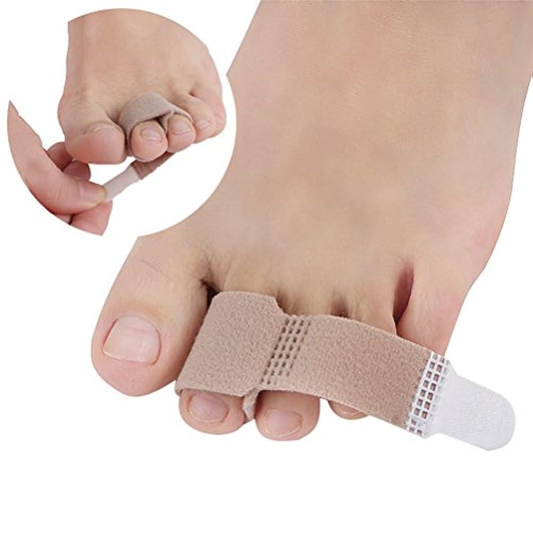 遺体安置所登録するピンチULTNICE トウラップクッション付き包帯ハンマートウセパレータスプリントフィンガーブレーススプリントサポート