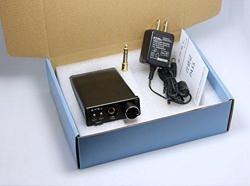 SMSL sApII Pro TPA6120A2 Big Power High Fidelity Stereo Headphone Amplifier (silver) [並行輸入品]