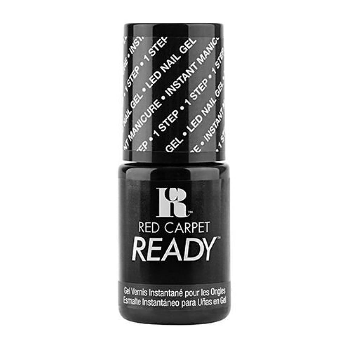 キャスト経験自転車Red Carpet Manicure - One Step LED Gel Polish - Little Black Book - 0.17oz / 5ml