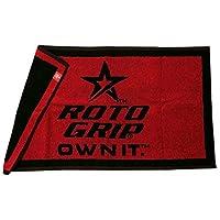 Roto-Grip 織りタオル レッド/ブラック