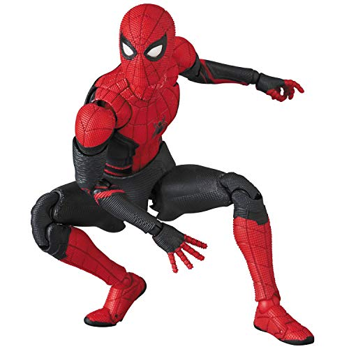 MAFEX マフェックス No.113 SPIDER-MAN Upgraded Suit 『SPIDER-MAN Far from Home』 全高約150mm 塗装済み アクションフィギュア