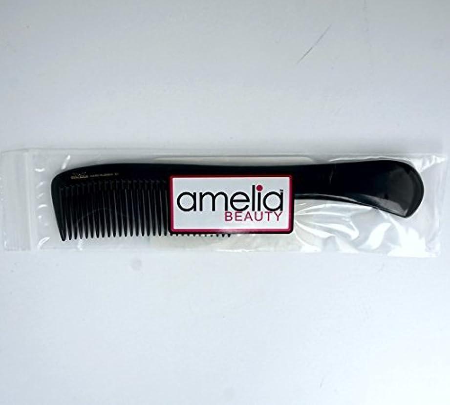 タンパク質理由粘り強い9in, Hard Rubber, Handle Comb [並行輸入品]