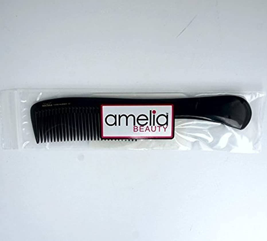 9in, Hard Rubber, Handle Comb [並行輸入品]