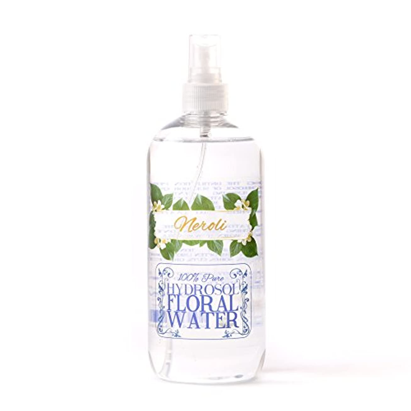 サーバントへこみ移植Neroli Hydrosol Floral Water With Spray Cap - 500ml