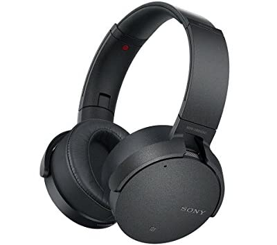 ソニー SONY ワイヤレスノイズキャンセリングヘッドホン 重低音モデル MDR-XB950N1 : Bluetooth/専用スマホアプリ対応 ブラック MDR-XB950N1 B