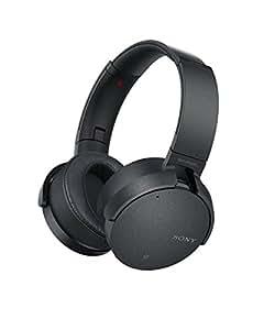 ソニー SONY ワイヤレスノイズキャンセリングヘッドホン 重低音モデル MDR-XB950N1 : Bluetooth/専用スマホアプリ対応 ブラック MDR-XB950N1 B