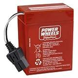 Fisher Price Power Wheels Barbie Sun Jammer Made前05–03–9876960オリジナルバッテリ