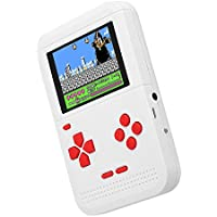 Goolsky 携帯ゲーム機 Q1 ハンドヘルド ゲームコンソール 内蔵300種類クラシックゲーム ゲーム機 デュアルバッテリ電源 AVアウト 2.6インチ画面表示