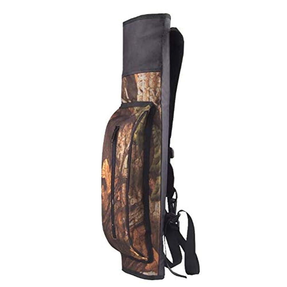 蒸留合意マダムDishyKooker 大容量アウトドアハンティングバック アロー 針アーチェリー ボウアローホルダーベルトバッグ