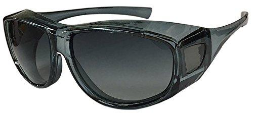 フェイストリックグラッシーズ メガネの上から掛けられるオーバ...