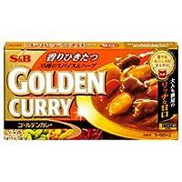 エスビー食品 S&B ゴールデンカレー 甘口 198g×10個入×(2ケース)