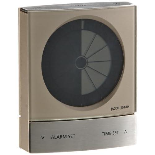 JACOB JENSEN Timer clock Warm Silver BX115W