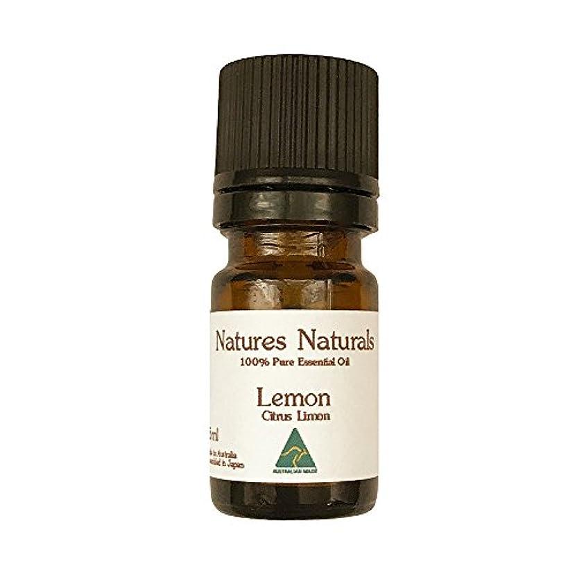窒素別々に光景レモン エッセンシャルオイル 100% 精油 5ml