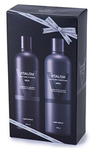 バイタリズム(VITALISM) スカルプケア メンズ 2点 セット  シャンプー&コンディショナー  ノンシリコン男性用 ( シャンプー 350ml )( コンディショナー 350ml )