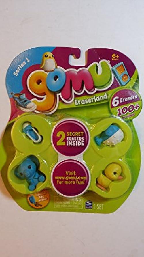 Gomu Eraserland Series 1 Erasers 6Pack