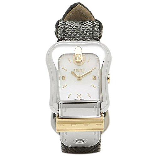[フェンディ] 腕時計 レディース FENDI F382124511D1 ホワイトパール ブラック シルバー [並行輸入品]