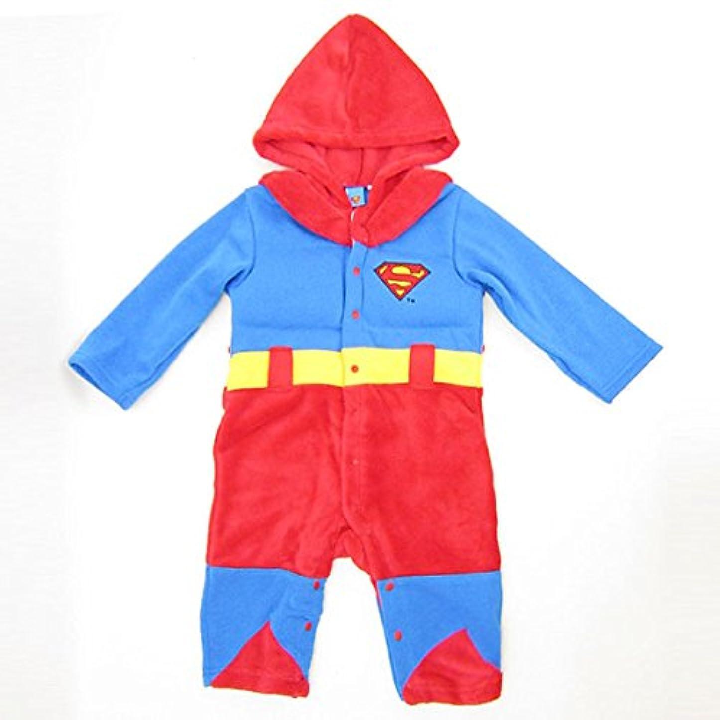 ワンダー前書き第九スーパーマン なりきり きぐるみカバーオール (コスチューム/ベビー服) 95cm (SUPERMAN) ベビー用品