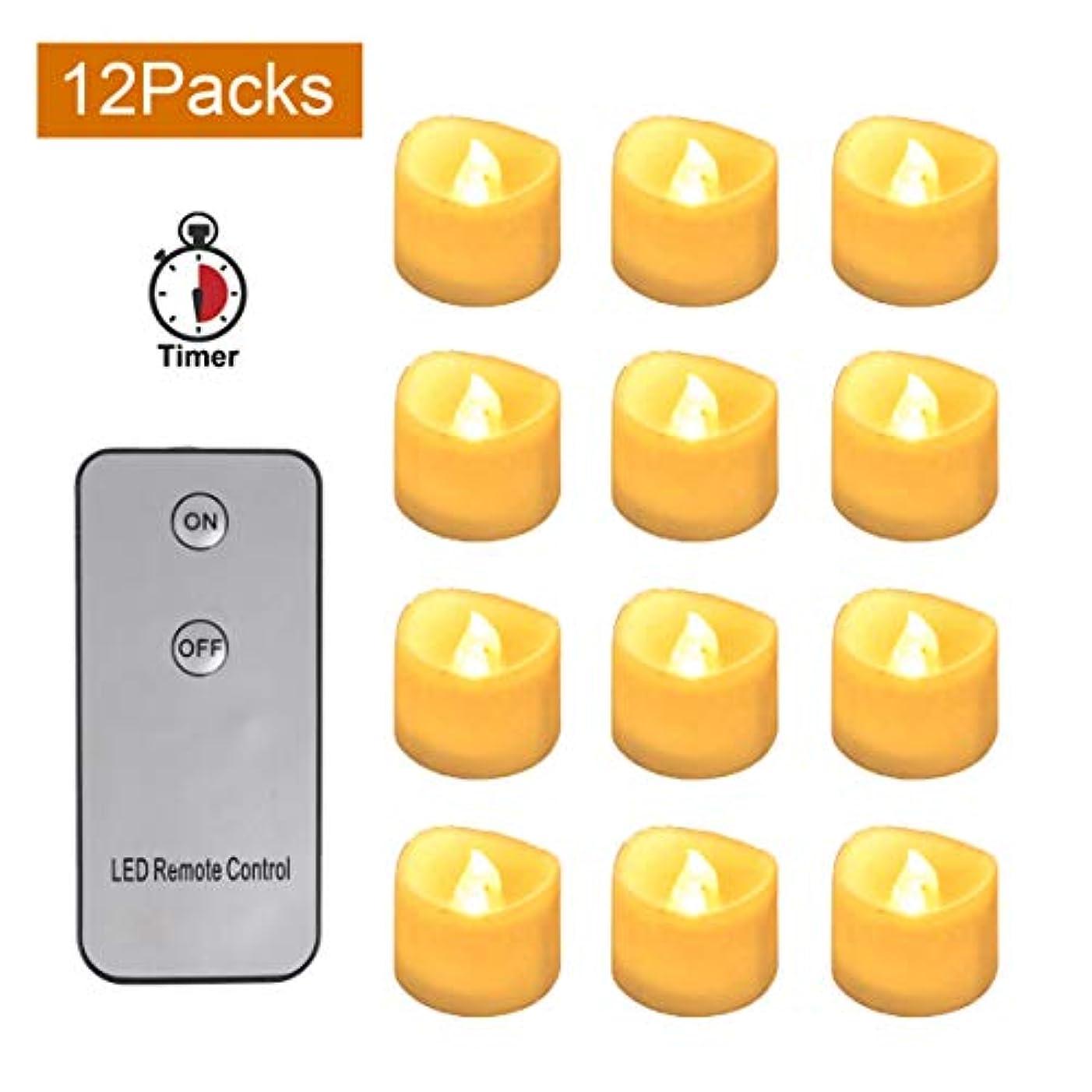 戦術歯科医奨学金CoolEnding Flameless Candles Battery Operated LED Tealight Flickering Electric Candles,Perfect for Wedding and Home Decor 141[並行輸入]