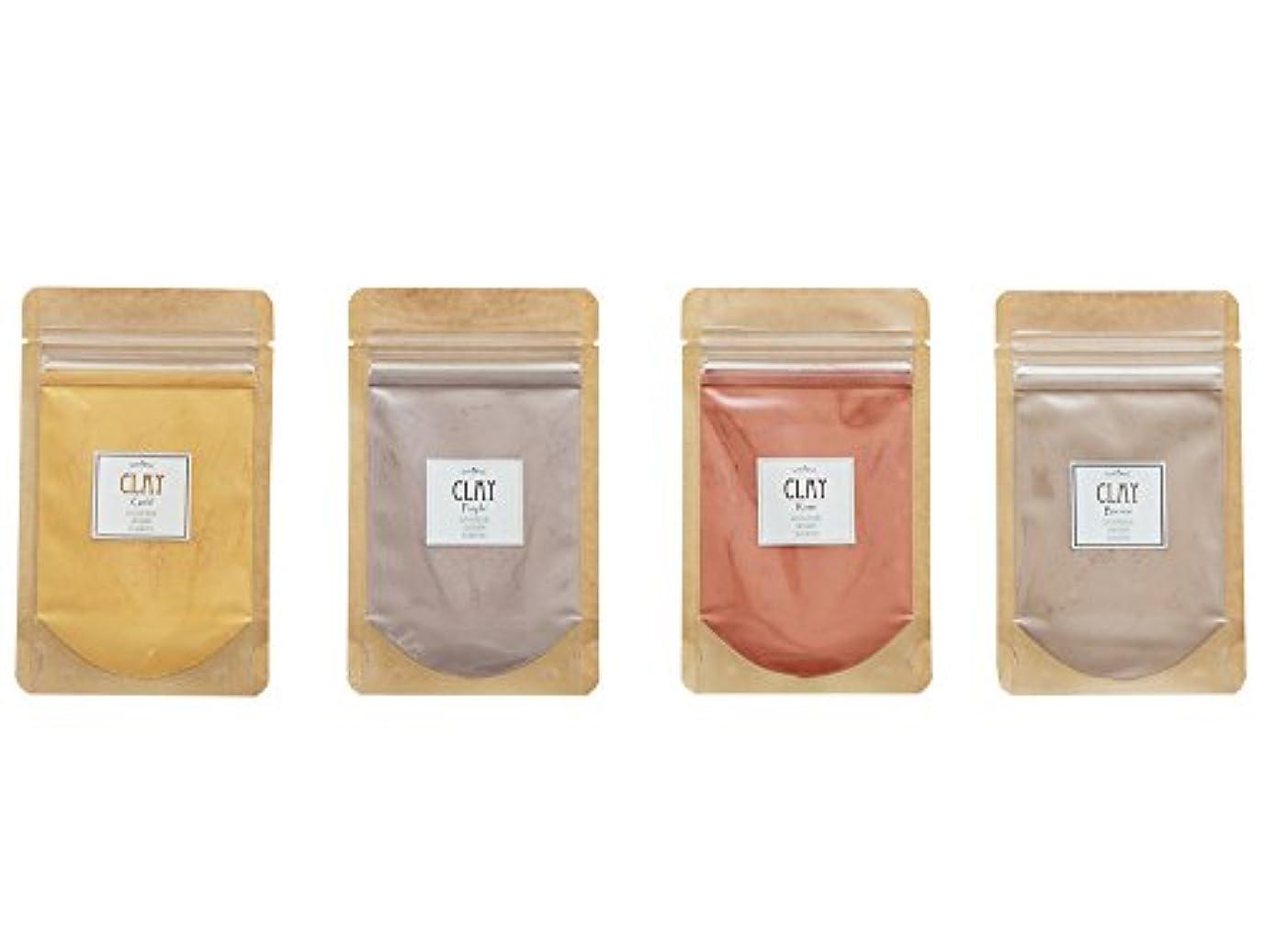 勇敢なマット繊毛ICA国際クレイセラピー協会 【カラーリングクレイ(4色セット)】