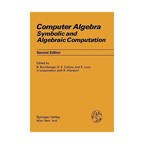 Computer Algebra: Symbol...の商品画像
