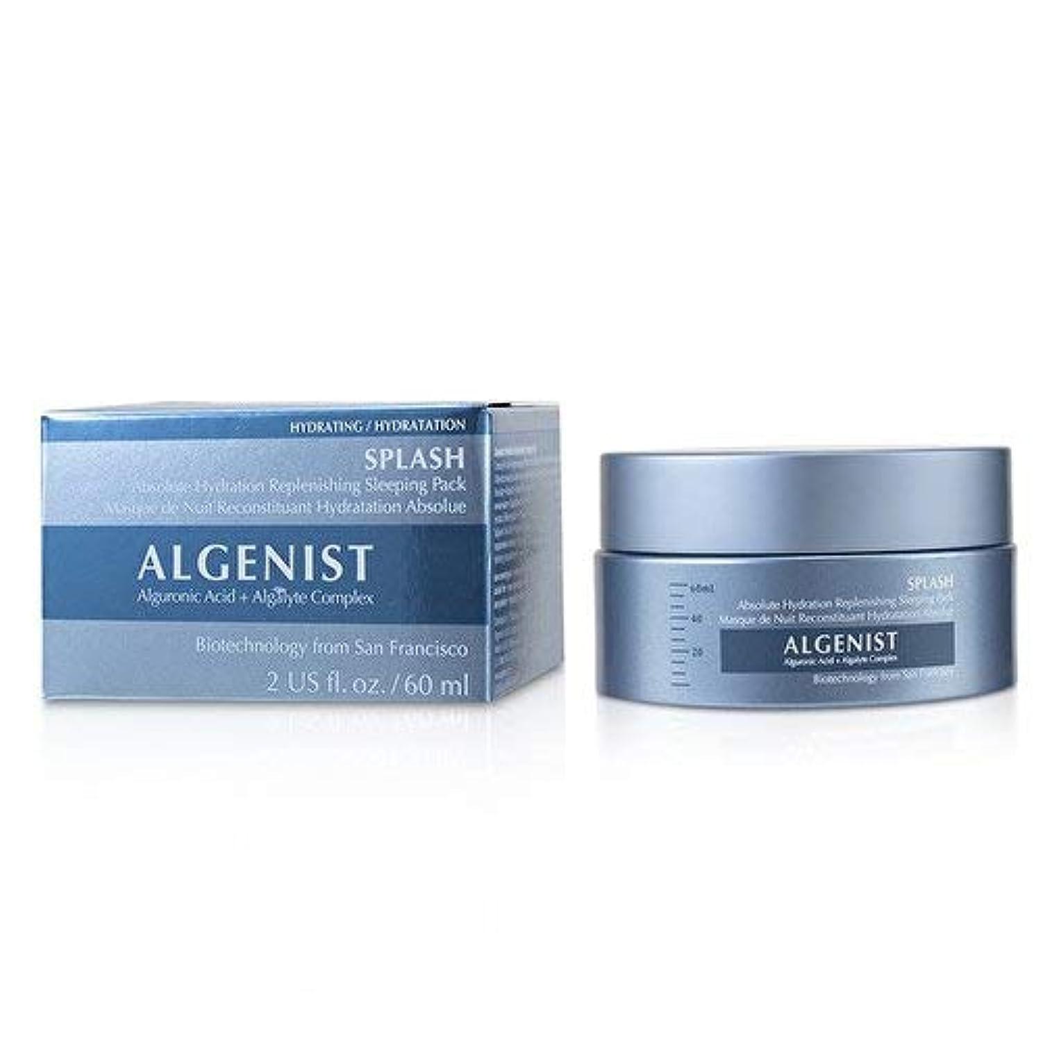 分類するアミューズメント色合いアルゲニスト SPLASH Absolute Hydration Replenishing Sleeping Pack 60ml/2oz並行輸入品