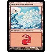 Snow-Covered Mountain Playset of 4 (Magic the Gathering : Coldsnap #154 Basic Land) by Magic: the Gathering [並行輸入品]
