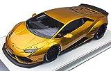 LBPERFORMAN Premium Collection 1/43 LIBERTY WALK LB-WORKS Huracan LP610 Transparent Gold 完成品