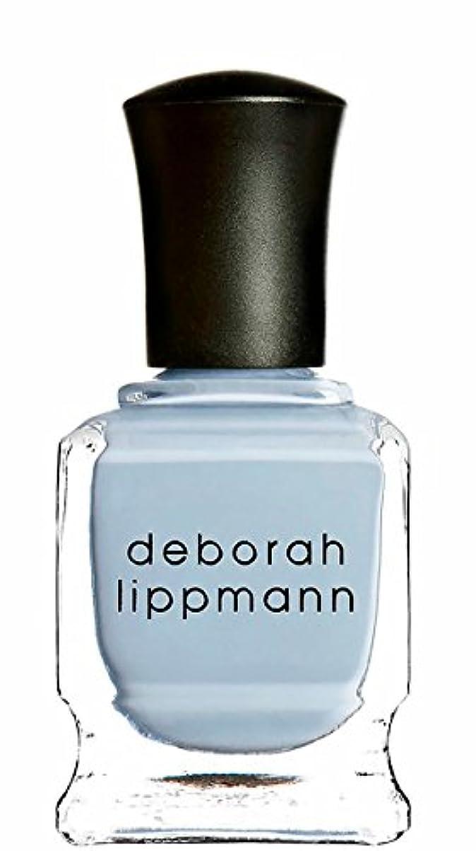 質量推論繁栄する[deborah lippmann] [ デボラリップマン] ブルーオーキッド BLUE ORCHID 【パステルブルー】 15mL