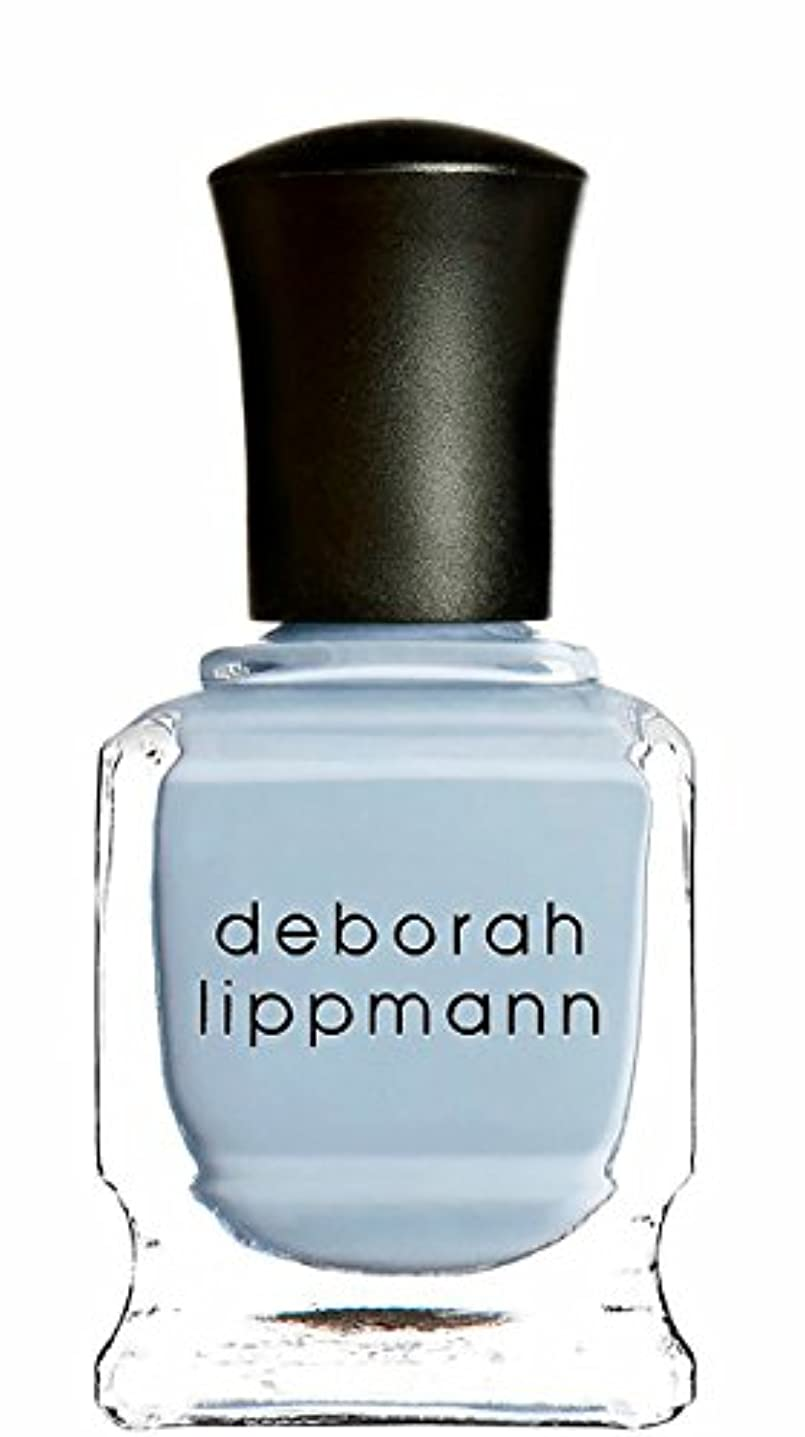 岸表面的な排泄する[deborah lippmann] [ デボラリップマン] ブルーオーキッド BLUE ORCHID 【パステルブルー】 15mL
