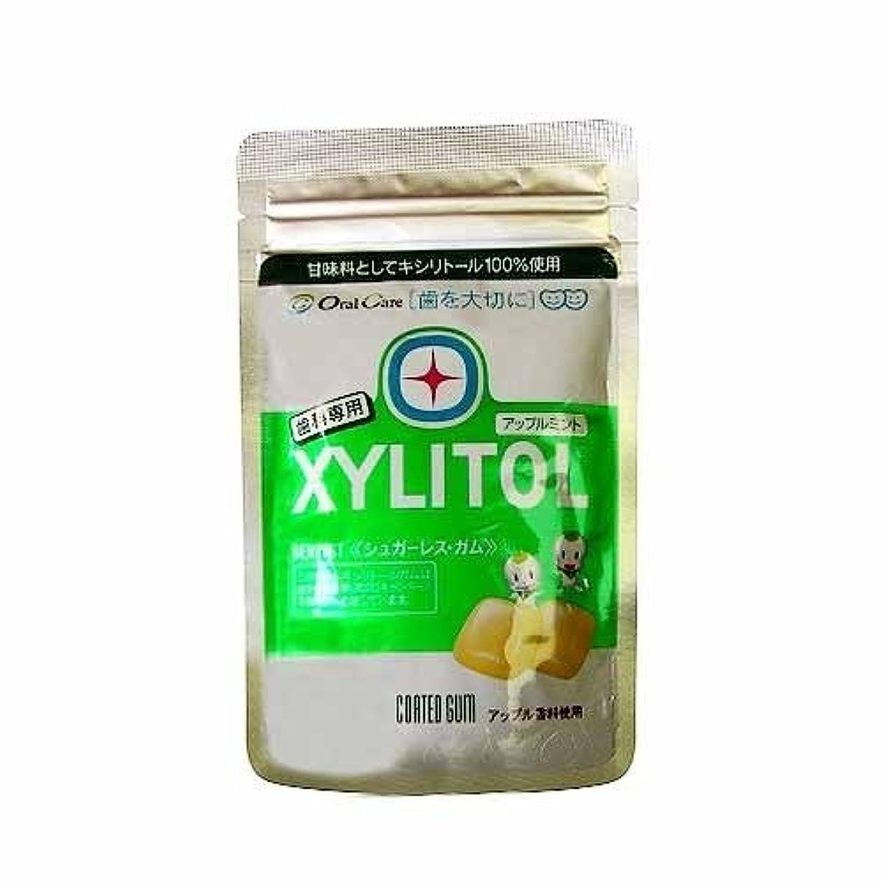価値関税タイトキシリトールガム ラミチャック 21粒 ×8袋 (アップルミント)