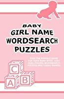 Baby Girl Name Wordsearch Puzzles [並行輸入品]