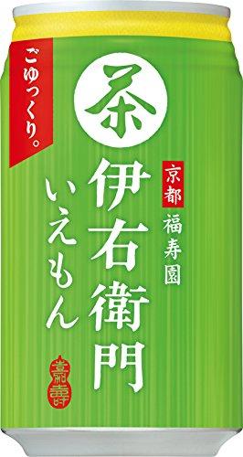 サントリー緑茶伊右衛門 340g缶 340G × 24缶