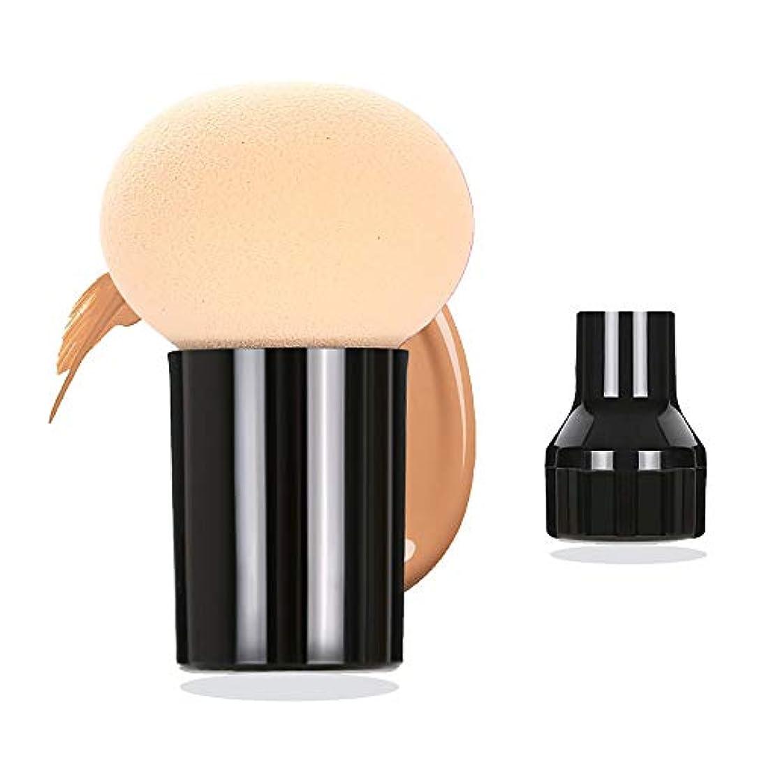 ドラッグとティーム証明するスポンジパフ メイクスポンジパフ 多機能セット 化粧道具 乾湿両用 美容ツール きのこ頭化粧パフ BBクリー フェイシャル