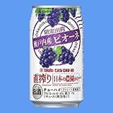 タカラ 直搾り 日本の農園から 〈瀬戸内産ピオーネ〉350mlケース(24本入り) ≪数量限定≫