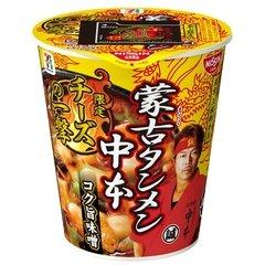 【数量限定】日清食品 蒙古タンメン中本 チーズの一撃 115g×6個