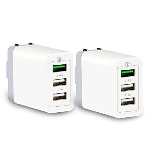 【2個セット】 PINYUE USB充電器 QC3.0 搭載 ACアダプター...