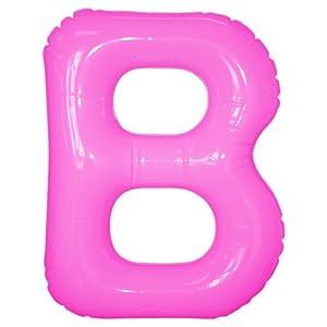 エアポップレターバルーン ピンク 「B」 14...の関連商品3