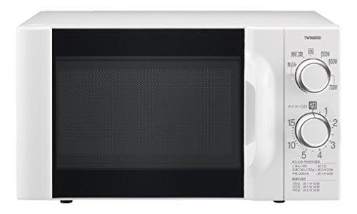 ツインバード 電子レンジ60Hz専用 ホワイト DR-D419W6