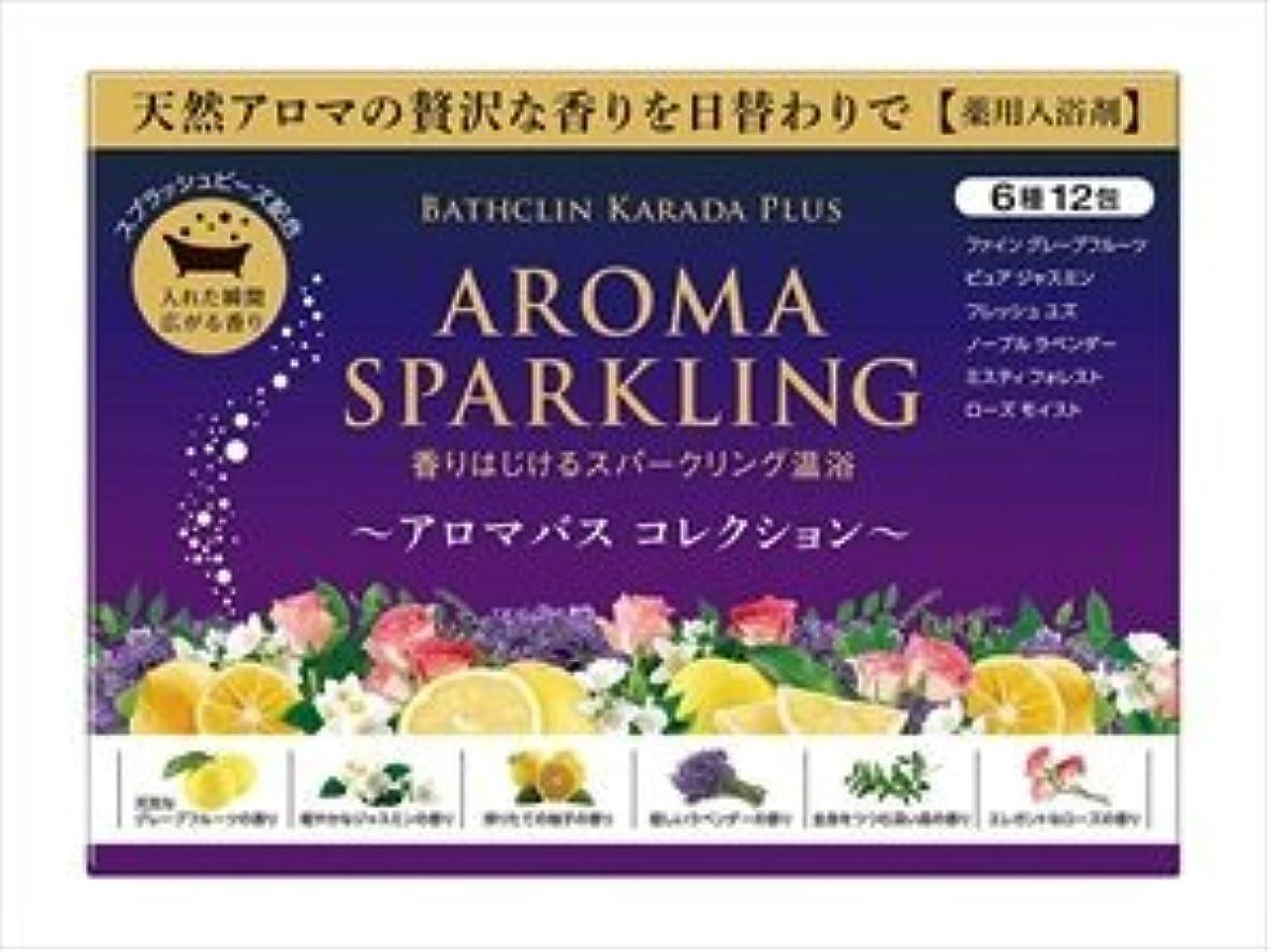 繊維異常な季節バスクリン アロマスパークリング コレクション × 12個セット