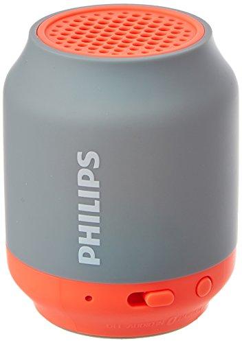 PHILIPS Bluetoothスピーカー ワイヤレス/ポータブル/手の平サイズ グレー BT50G